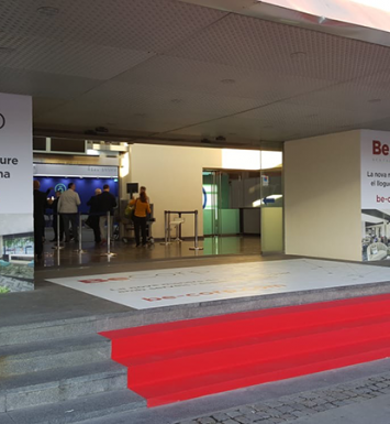 Fun Providers & BeCorp design the entrance of Barcelona Meeting Point