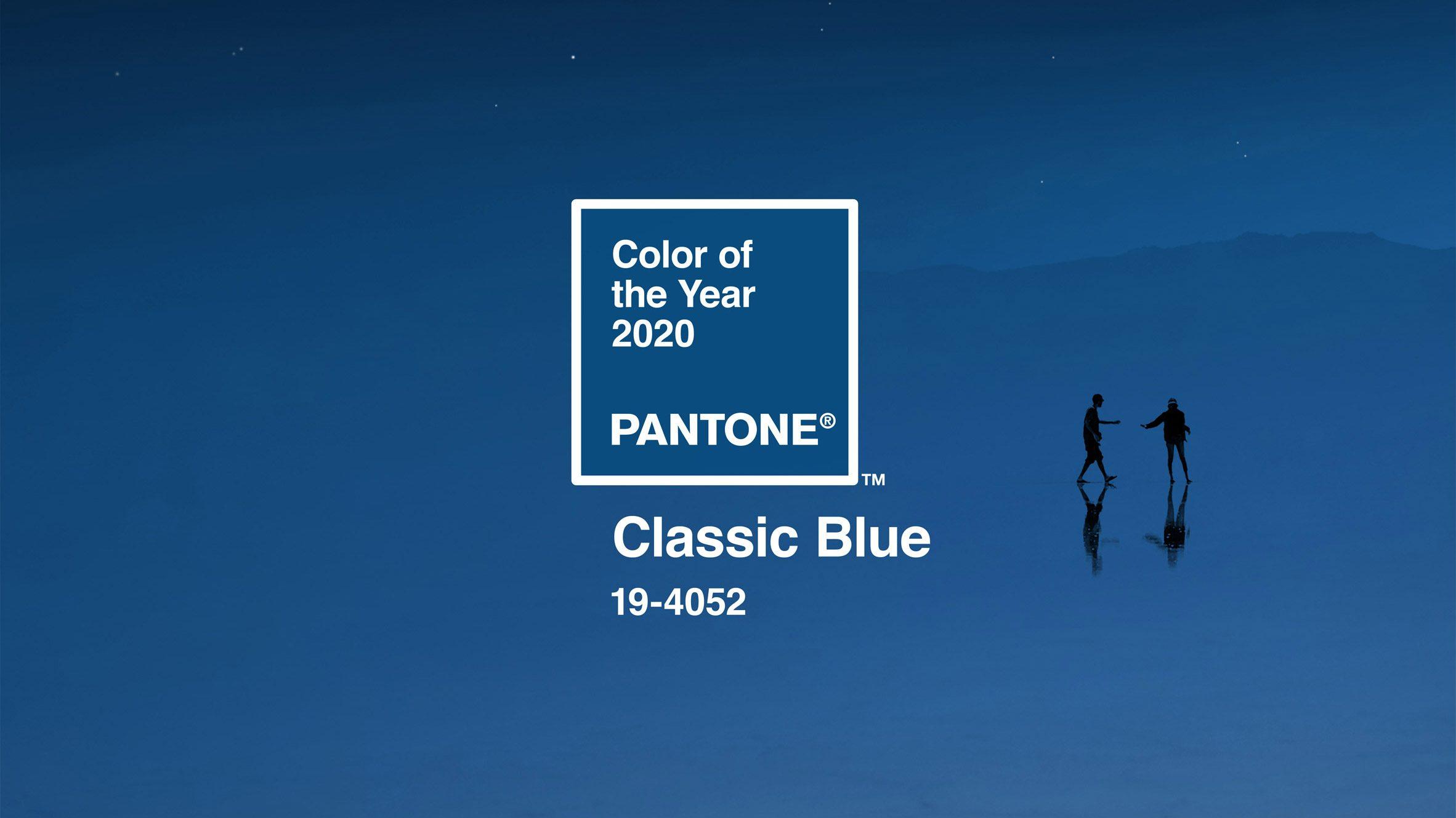 Classic Blue: el Color del Año 2020 de Pantone